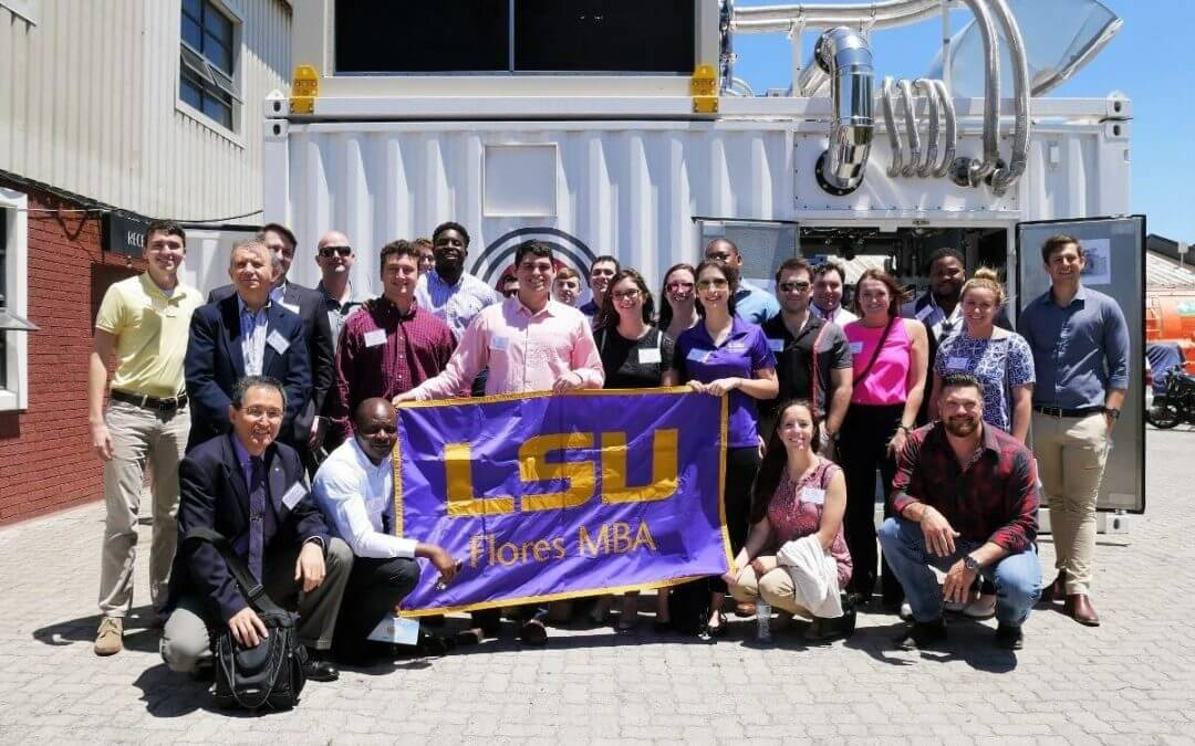 Louisiana State University Comes to Cape Town
