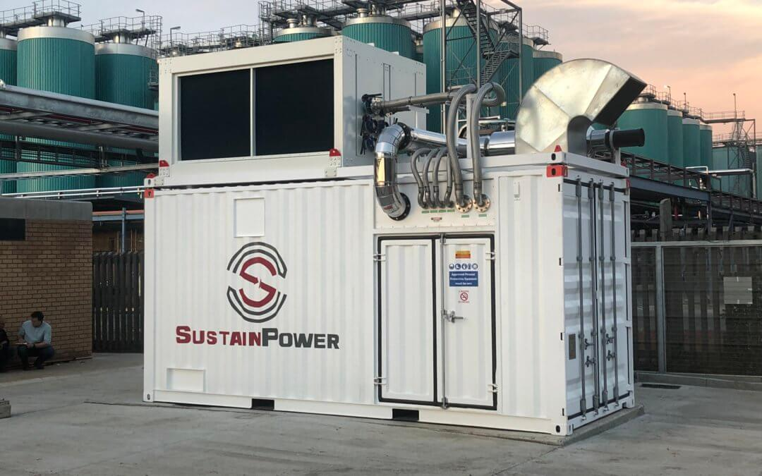 SustainPower supports Distell Springs in achieving sustainability goals, thanks to its combined heat and power (CHP) unit
