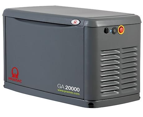 Pramac 20 kVa gas generator